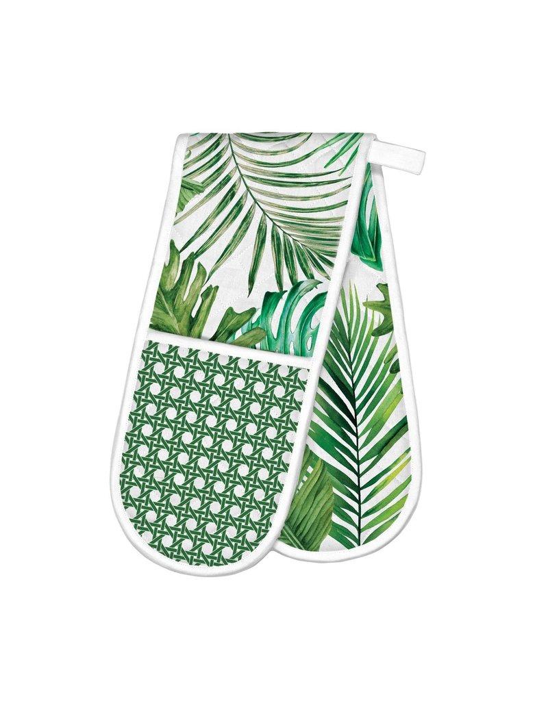 Michel Design Works Palm Breeze Double Oven Glove