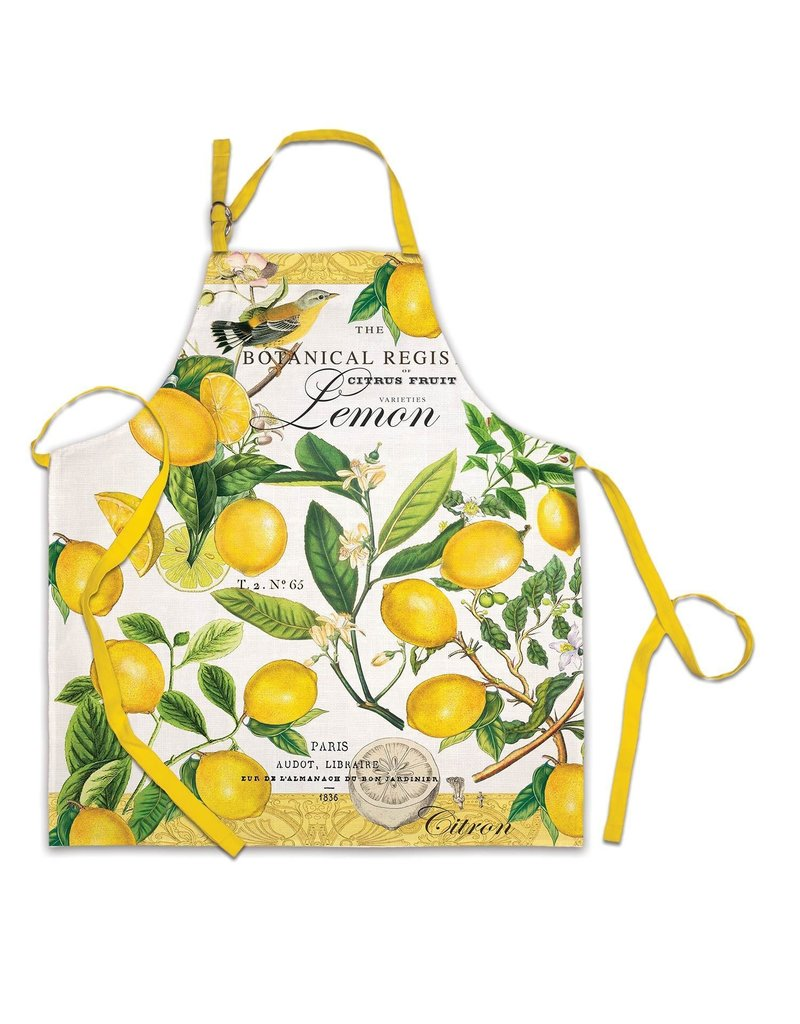 Michel Design Works Lemon Basil Apron