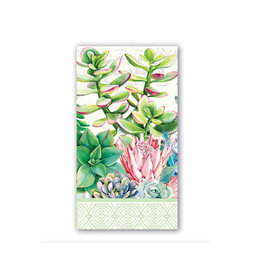Michel Design Works Pink Cactus Hostess Napkin