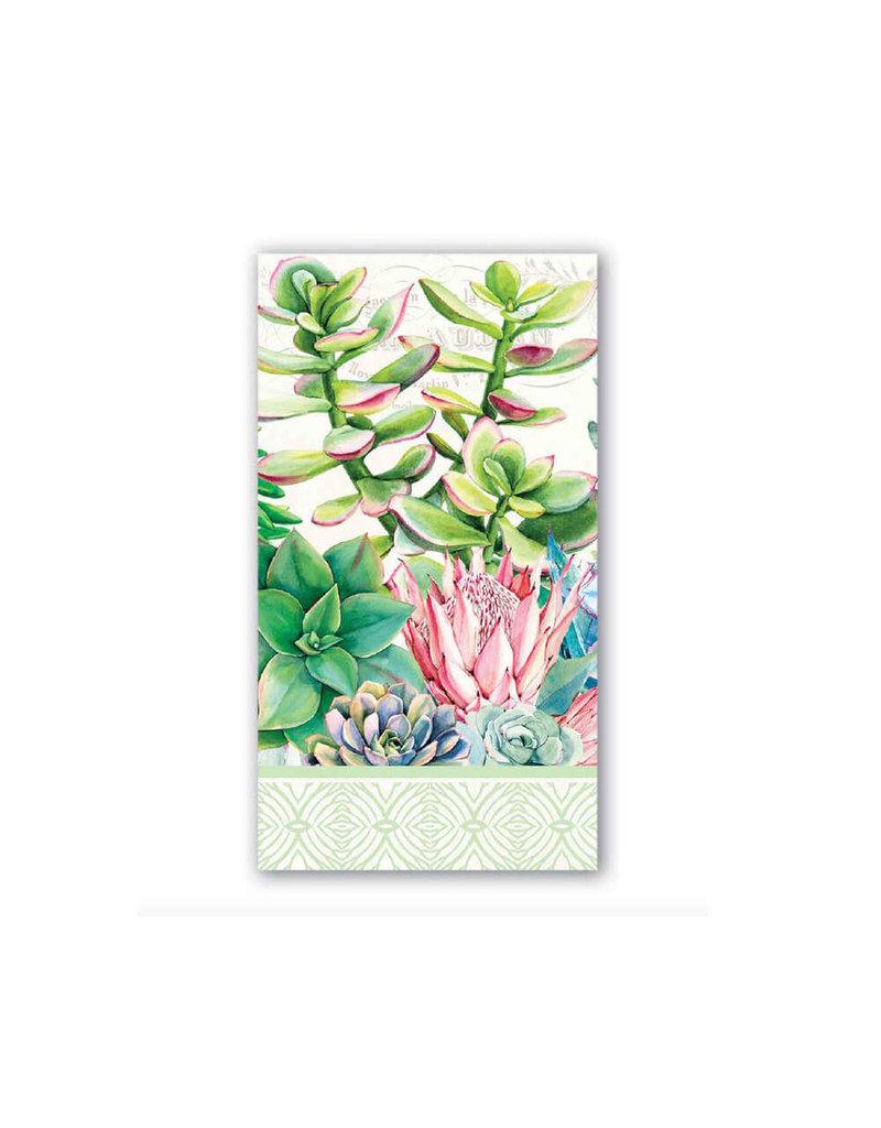 Michel Design Works Pink Cactus Hostess Napkin