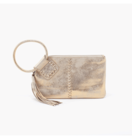 Hobo Bags Sable w/ Tassel - Distressed Gold