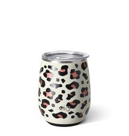Swig Swig 14oz Stemless Wine-Luxy Leopard