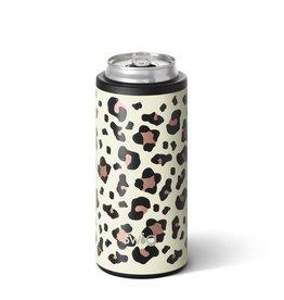 Swig Swig 12oz Skinny Can Cooler-Luxy Leopard