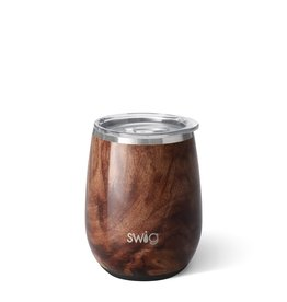 Swig Swig 14oz Stemless Wine Cup-Black Walnut