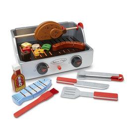 Melissa & DougLLC Rotisserie & Grill Barbecue Set