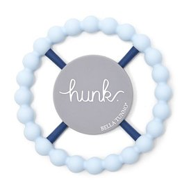 Bella Tunno Hunk Teether Light Blue