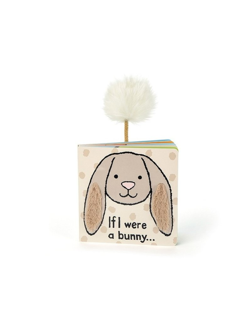 Jellycat If I Were A Bunny Book - Beige