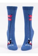 Blue Q Socks : I Have To Pee...Again Crew