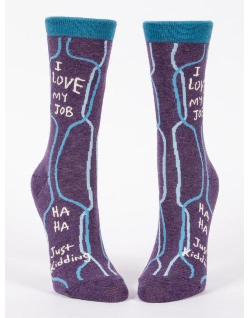 Blue Q Socks : I Love My Job