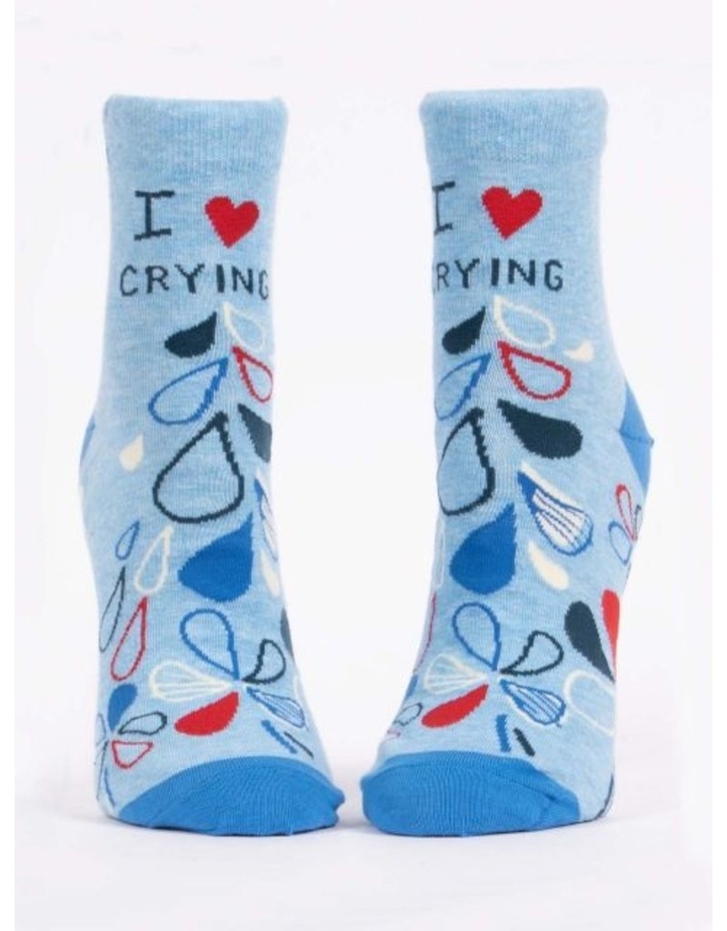 Blue Q Socks: I Heart Crying Ankle
