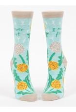 Blue Q Socks: I Never Fart Crew