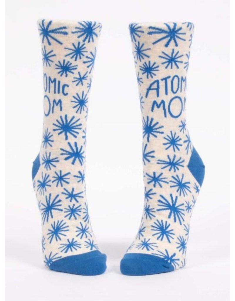 Blue Q Socks: Atomic Mom Crew
