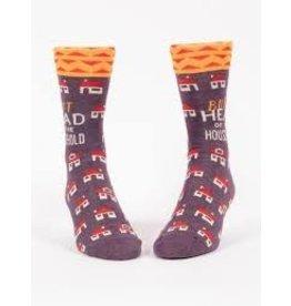 Blue Q Socks: Butthead Household Men's