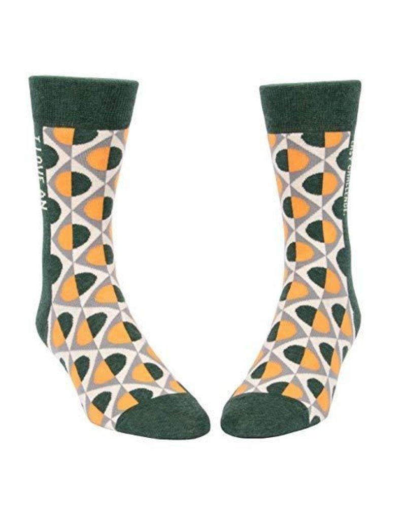 Blue Q Socks: Easy Challenge Men's