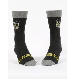 Blue Q Socks: Selective Hearing Men's