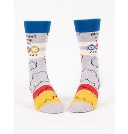 Blue Q Socks: President Gas Co. Men's