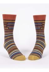 Blue Q Socks: Pretty Decent Boyfriend Men's