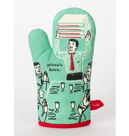Blue Q Pizza's Here Oven Mitt