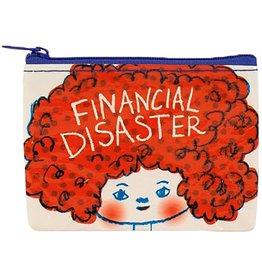 Blue Q Coin Purse: Financial Disaster
