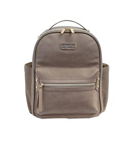 Itzy Ritzy Mini Diaper Backpack - Taupe