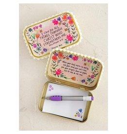 Natural Life Prayer Box - All Things Christ