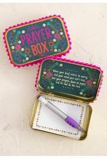 Natural Life Prayer Box - Slate Blue