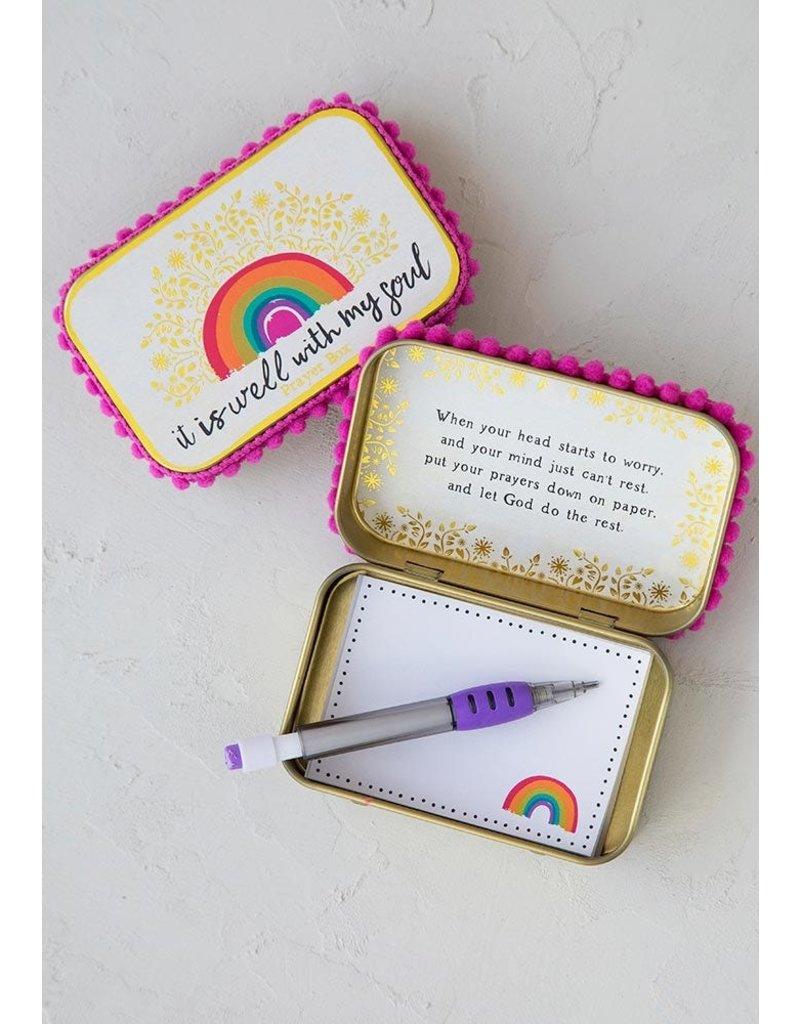 Natural Life Prayer Box - It Is Well With My Heart