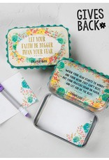 Natural Life Prayer Box - Let Your Faith