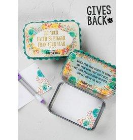 Natural Life Prayer Box - Let Your Faith