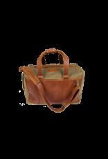 Jon Hart Design JH Duffel-Canvas-Leather Trim
