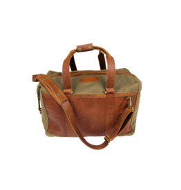 Jon Hart Design JH Duffel-Canvas-Leather Trim