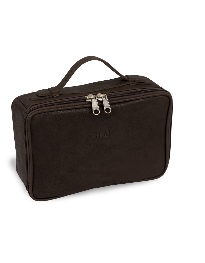 Jon Hart Design JH Dopp Kit Oiled Leather