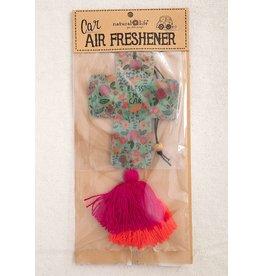 Natural Life Air Freshner - Bless Car Cross