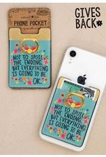 Natural Life Phone Pocket Ring - Everything Okay