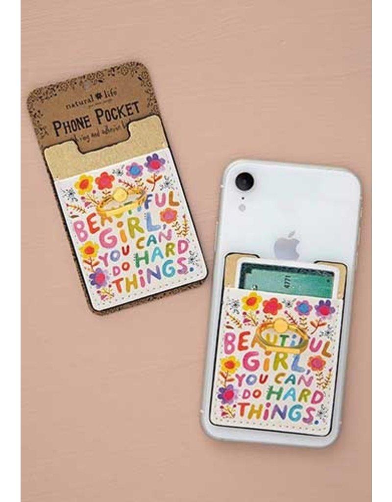 Natural Life Phone Pocket Ring - Beautiful Girl