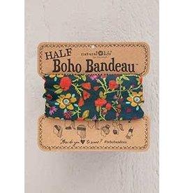 Natural Life Half Boho Bandeau - Forest Flowers