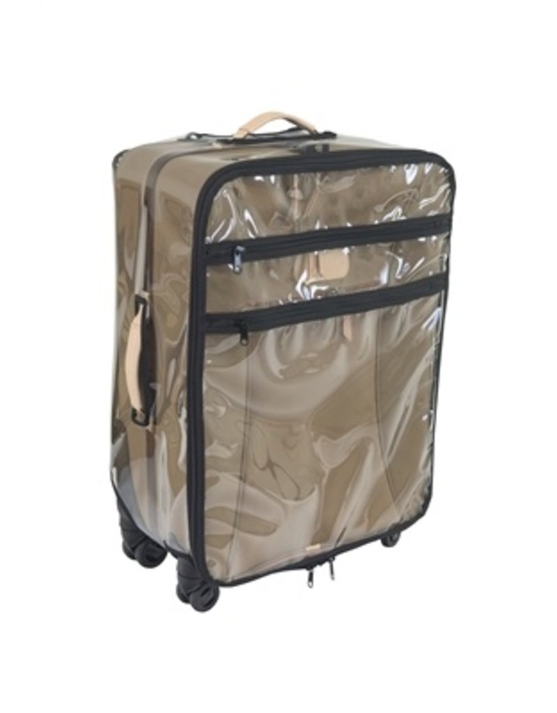 Jon Hart Design Clear Cover Carry On Wheels 360