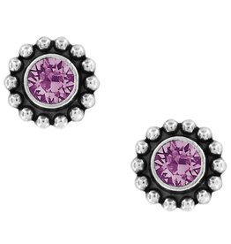 Brighton Twinkle Mini Post Earring - Amethyst