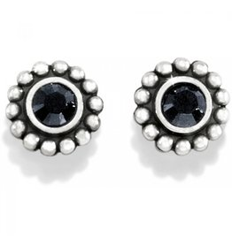 Brighton Twinkle Mini Post Earring - Black