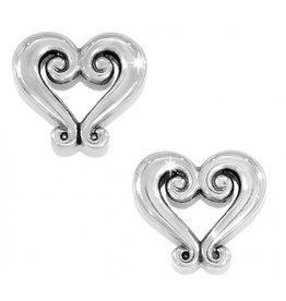 Brighton Genoa Heart Mini Post Earrings
