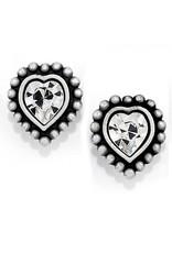 Brighton Shimmer Heart Mini Post Earring