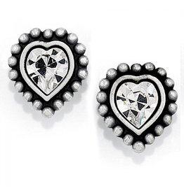 Brighton Shimmer Heart Mini Post Earring