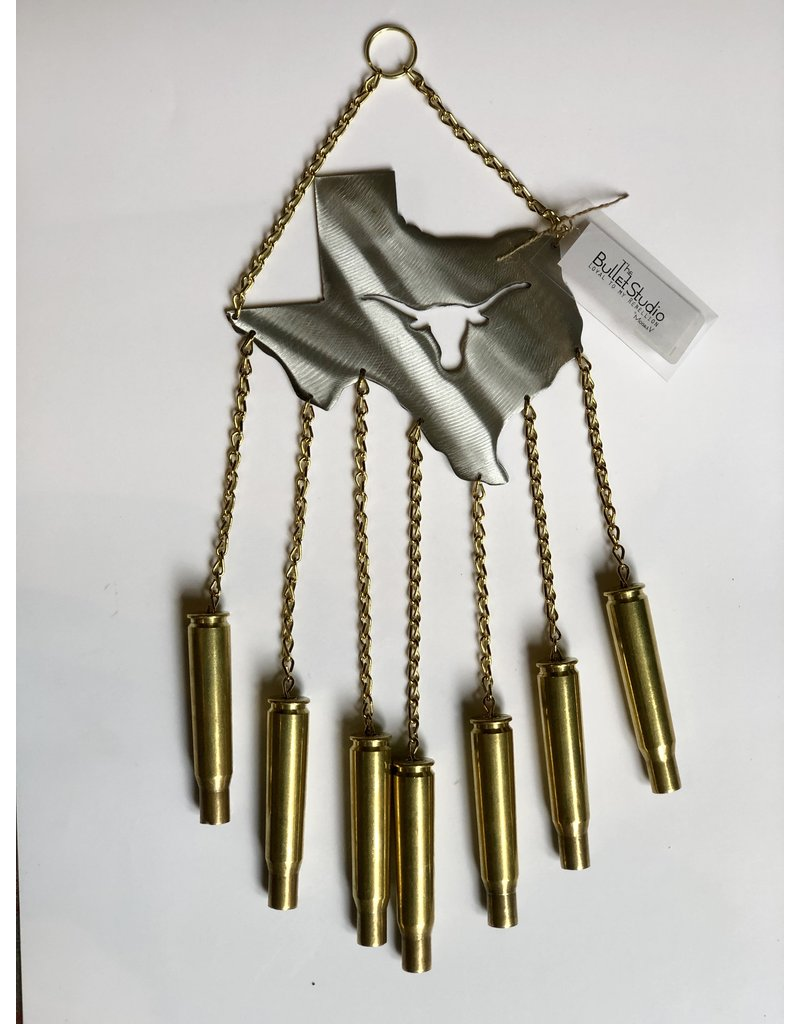 The Bullet Studio Texas Longhorn Windchime