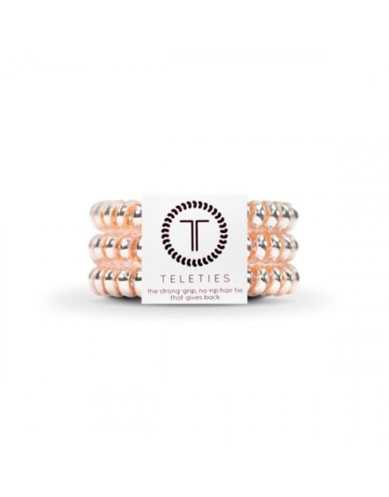 Teleties Teleties Small - Metallic/Iridescent - 3 Pack Hair Coils