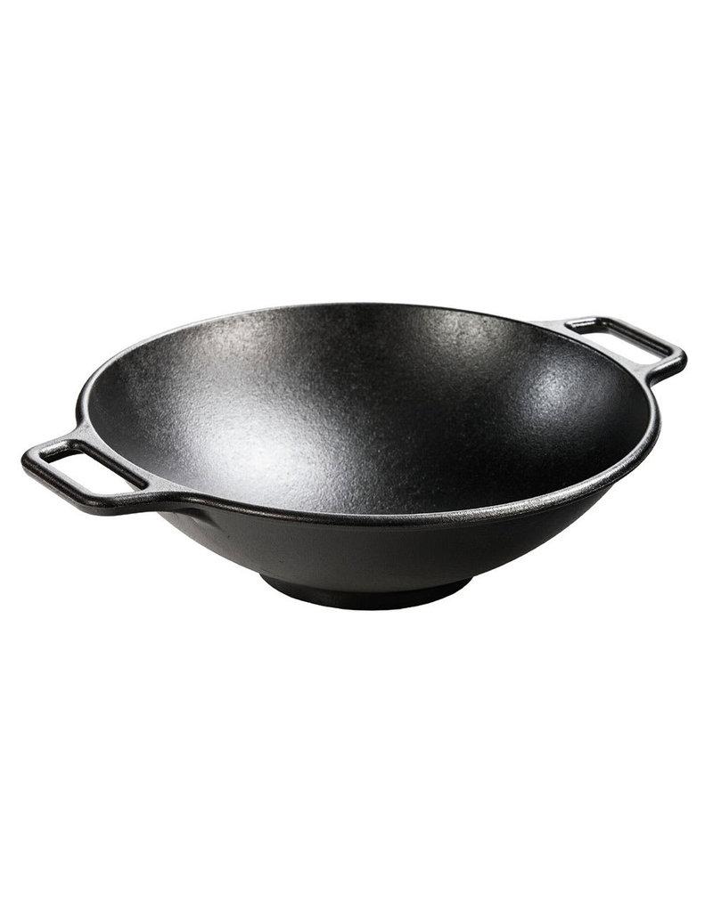 "Lodge Cast Iron Chef Style Stir Fry Skillet Wok - 12"""