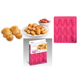 New Metro 12 Little Pigs in a Blanket Silicone Mold