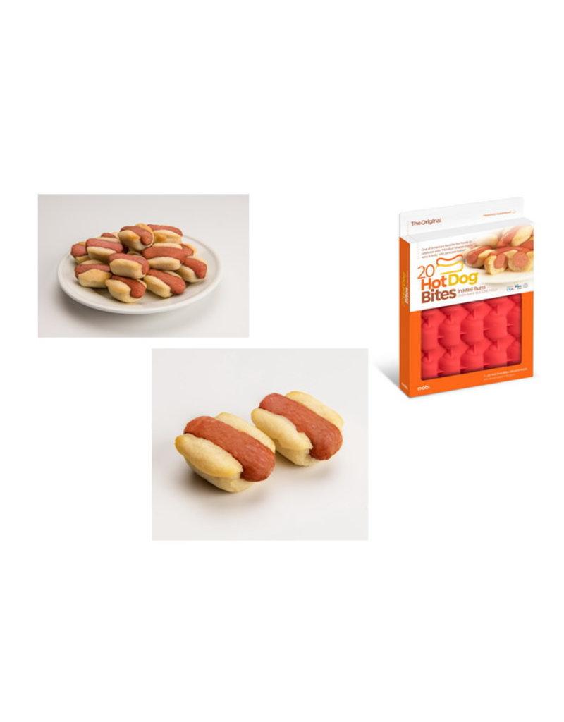 New Metro Hot Dog Bites Silicone Mold