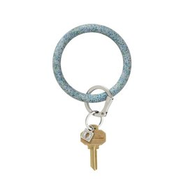 O-Venture Big O Key Ring - Confetti Silicone