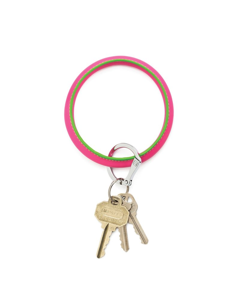 O-Venture Big O Key Ring - Solid Leather