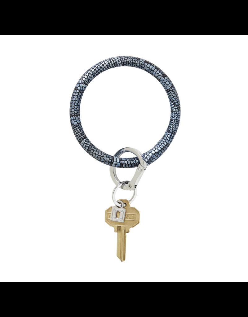 O-Venture Big O Key Ring - Snakeskin/Lizard Leather